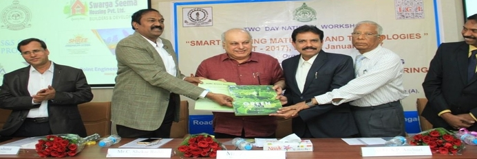 Two Day National Workshop on Smart Building Materials & Technologies - 2017