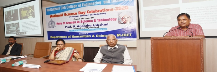 NATIONAL SCIENCE DAY CELEBRATIONS 2020